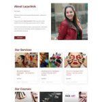 Makeup Webdesign